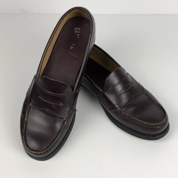 a44f57a0a7d Eastland Shoes - Eastland Womens Burgundy Leather Penny Loafers